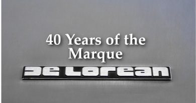 40 Years of the DeLorean Marque in 2021